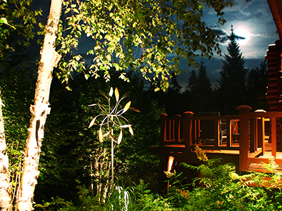 Artistic Landscape Lighting Hemmingford