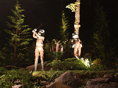 Artistic Landscape Lighting St-Paul de Joliette