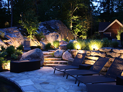 Artistic Landscape Lighting Mont-Tremblant